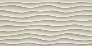 White body wall tiles 3D Wall Design Dune Sand