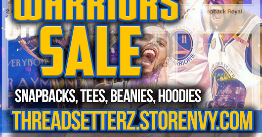 WARRIORS ARE WORLD CHAMPS! CELEBRATE WITH OUR SALE!