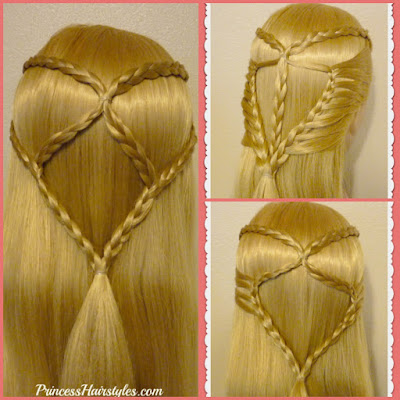 3 cute, easy, and quick half up hairstyles using braids. Video tutorial.