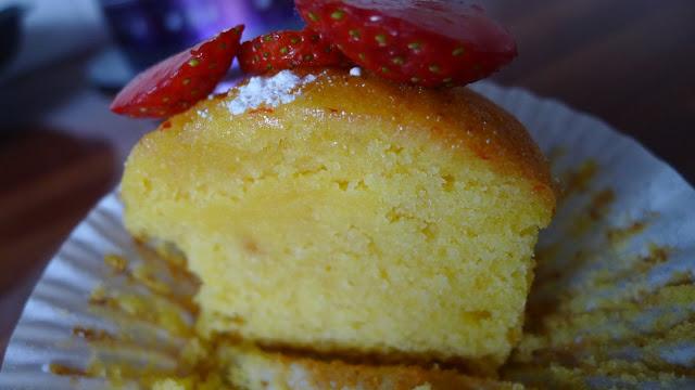 Dairy Free Orange Polenta Cake
