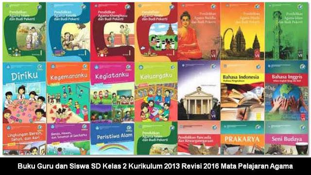 Buku Guru dan Siswa SD Kelas 2 Kurikulum 2013 Revisi 2016 Mata Pelajaran Agama