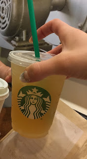 Starbucks, miami, jäätee, icetea, cheers, kippis, eka kerta