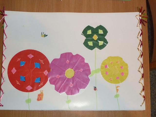 Zeichnungsmappe gestalten mit Kindern