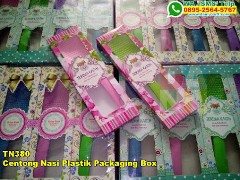 Toko Centong Nasi Plastik Packaging Box