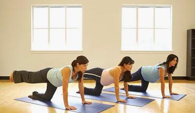 Tập thể dục để giảm đau lưng khi mang thai