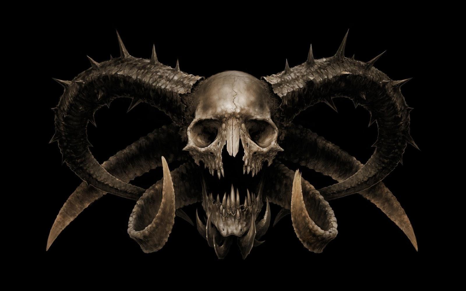 demon skull wallpaper -#main