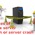 Causes of Linux server down or server crash
