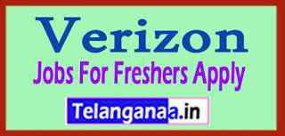 Verizon Recruitment Jobs For Freshers Apply