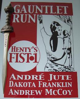 Portada del libro Gauntlet Run, de André Jute, Dakota Franklin y Andrew McCoy