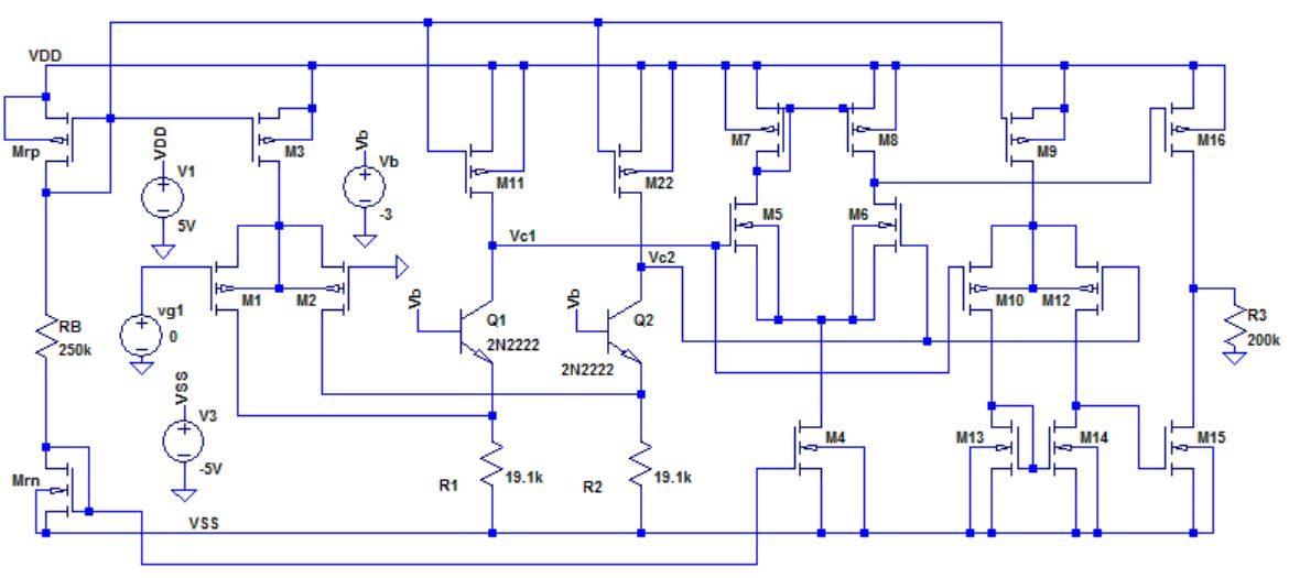 MOSFET Operational Amplifier with Symmetrcial Output ...