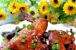 Airfry Korean Gochujang Chicken Wings