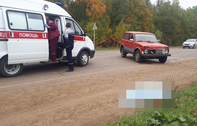 В Башкирии под колесами машины погибла бабушка