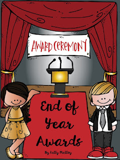 End of the Year Awards by Kelly Malloy Cover Page