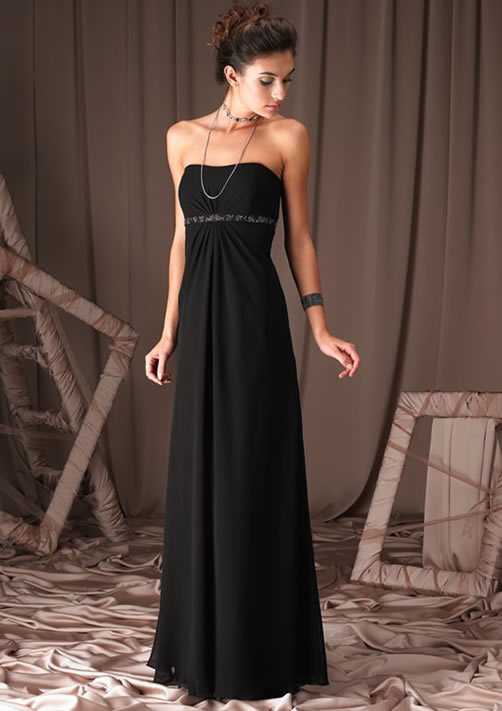 All About Wedding: Black Bridesmaids Dresses