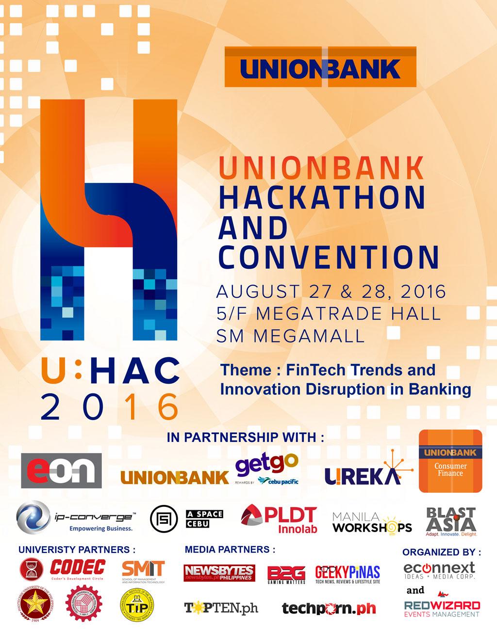 Unionbanks Hackathon and Convention - UHAC