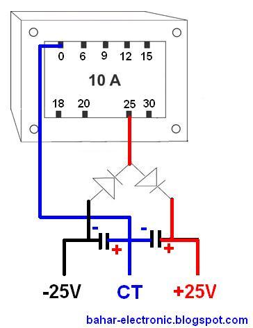Cara Menyambung Trafo Ke Power : menyambung, trafo, power, Membuat, Power, Supply, Simetris, Trafo, Bahar, Electronic