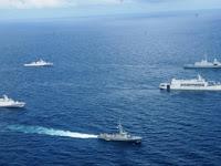 Heboh ! 15 Kapal Perang TNI AL Bergerak Menuju Mentawai , Ada Apa Nih?
