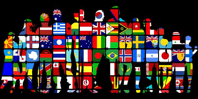 Flagge, Familien Wortliste