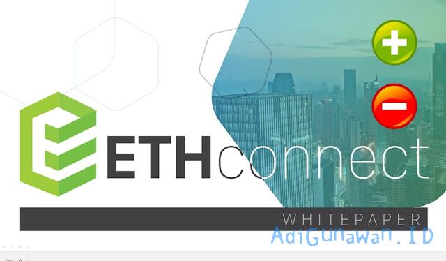 Panduan Investasi ICO di Ethconnect (ECH), Pemahaman Sistem Investasi ICO di Ethconnect (ECH), serta Cara Deposit Ethconnect (ECH) dan Trading / Menjual Ethconnect (ECH), Review Ethconnect (ECH)