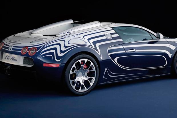 bugatti veyron grand sport l or blanc for the. Black Bedroom Furniture Sets. Home Design Ideas