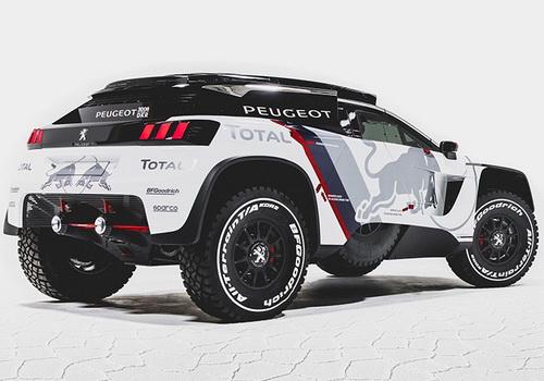www.Tinuku.com Peugeot Total Red Bull team bring Peugeot 3008 DKR for 2017 Dakar challenge