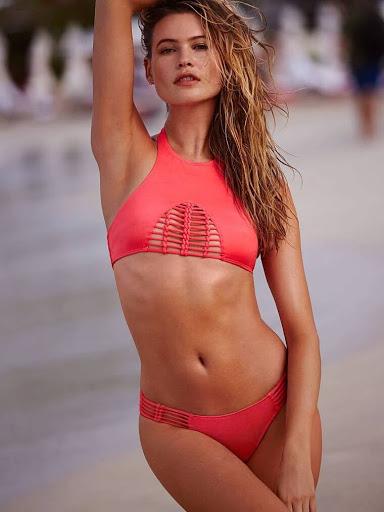 Behati Prinsloo sexy bikini models photo shoot for Victoria's Secret Swimwear