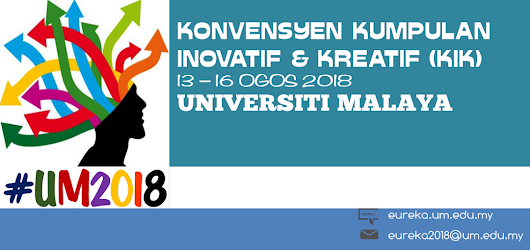 EUREKA #UM2018: Expo on University Research Invention, Creation & Innovation