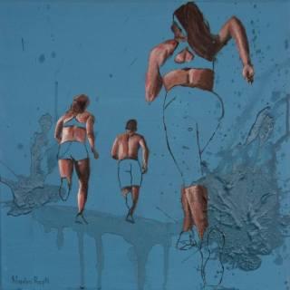 Фигуративная и абстрактная живопись. Nadia Rapti