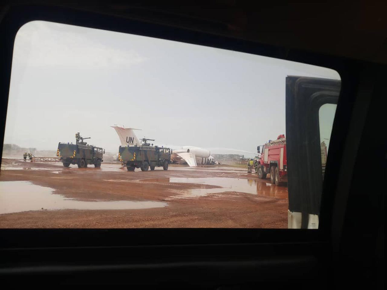 Avārijā cietusī lidmašīna 2
