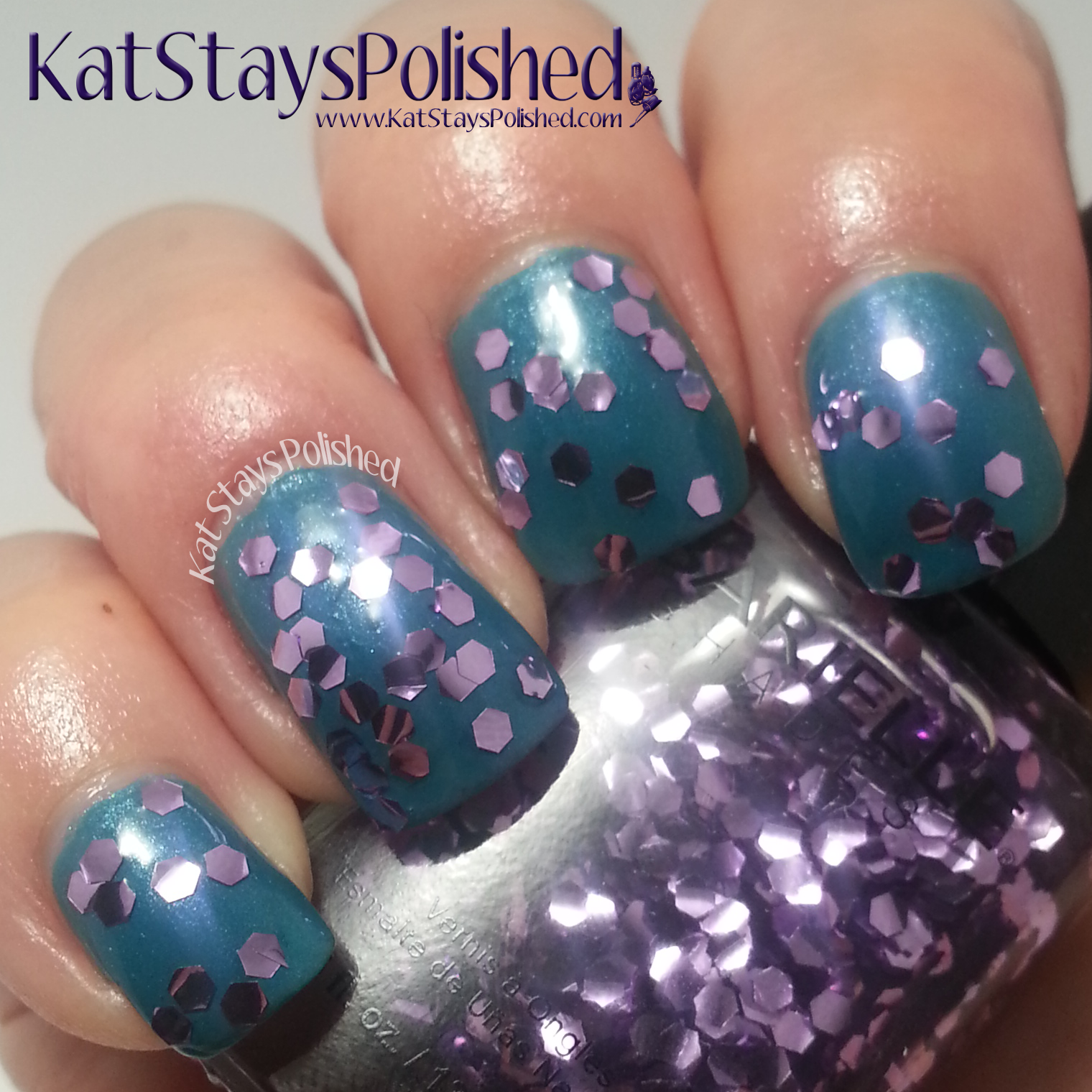 Barielle Bling It On - Amethyst over Under the Sea | Kat Stays Polished