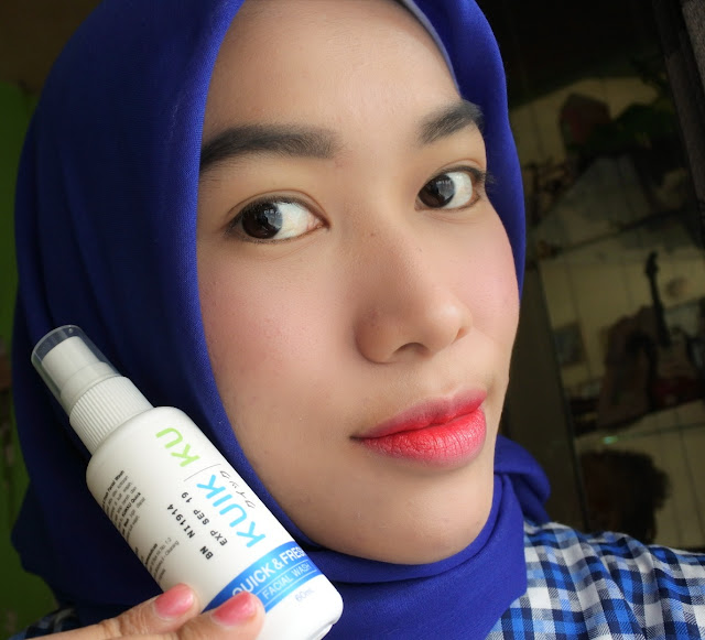 KUIKKU Quick & Fresh Instan Facial Wash