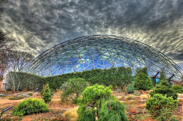 Climatron del Jardín Botánico en Missouri (Estados Unidos)