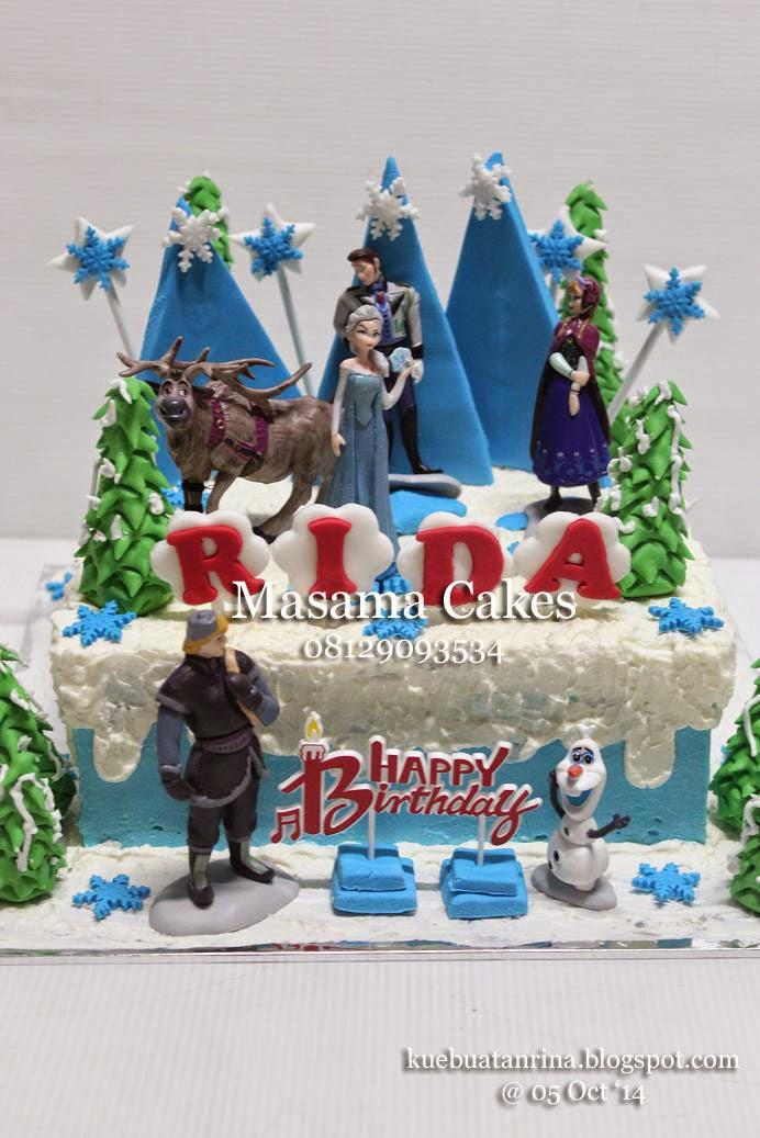 Masama Cakes Frozen Birthday Cake For Rida