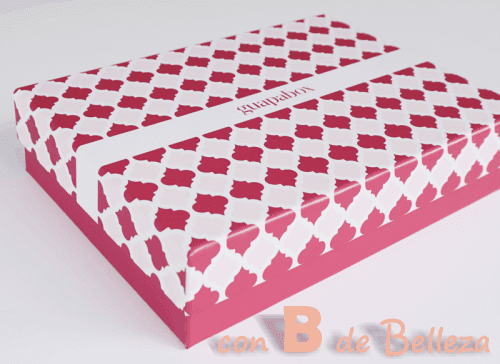 Guapabox caja rosa