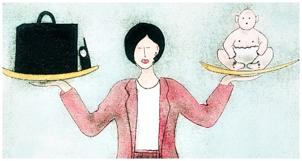 maternidade e o trabalho