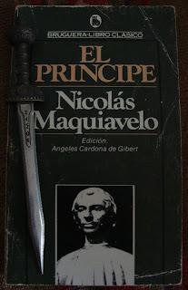 Portada del libro El príncipe, de Nicolás Maquiavelo