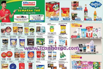 Promo Alfamart Gajian Untung (Gantung) 22 - 26 Mei 2019