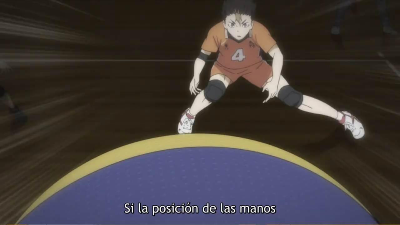 Haikyuu tercera temporada cap 2 Sub Español