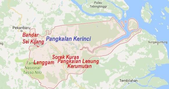 KotaKita.com: Pangkalan Kerinci dan Kota-kota Di Kabupaten ...