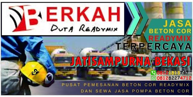 HARGA BETON COR JATI SAMPURNA BEKASI 2019