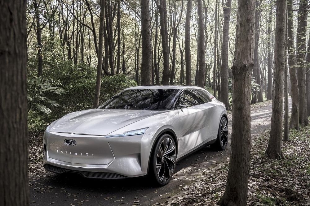 Infiniti Qs Inspiration: A sports sedan for the electrified era