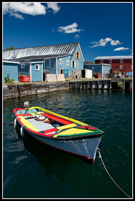 Nova Scotia; Lunenburg; Boat; Dock
