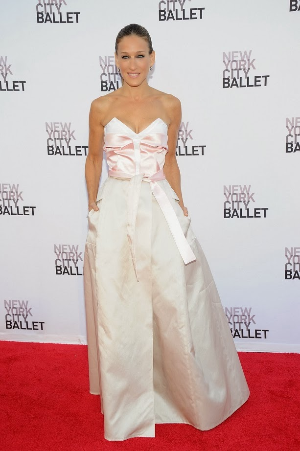 Sarah Jessica Parker Dazzles in Fred Leighton Jewels  at 2013 New York City Ballet Fall Gala