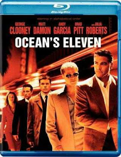Ocean's Eleven (2001) BRRip 480p 300mb Dual Audio ( Hindi-English ) MKV