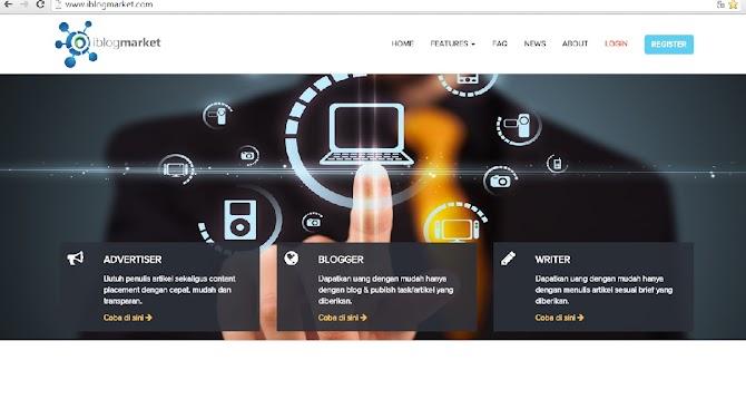 iBlogMarket solusi nge blog semakin bermanfaat