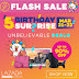 DAY 3, Lazada Birthday Sale FLASH SALE SCHEDULE Thursday March 23, 2017 - Part 2