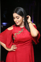 Poorna in Maroon Dress at Rakshasi movie Press meet Cute Pics ~  Exclusive 07.JPG