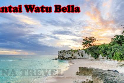 Pantai Watu Bella Yang Memiliki Pasir Seputih Salju –Sumba Barat – NTT