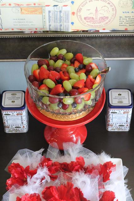 Ladies English Tea Party AK Party Studio Fruit Salad