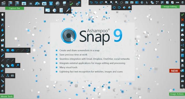 Ashampoo Snap 9 Crack Full Free Download